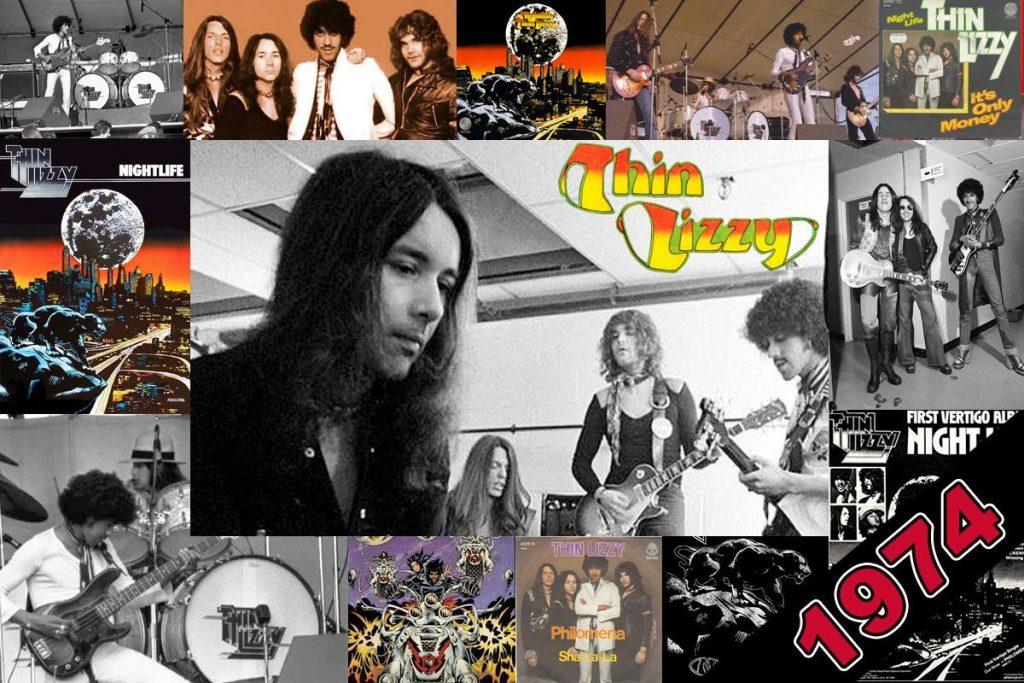 Thin Lizzy 1974