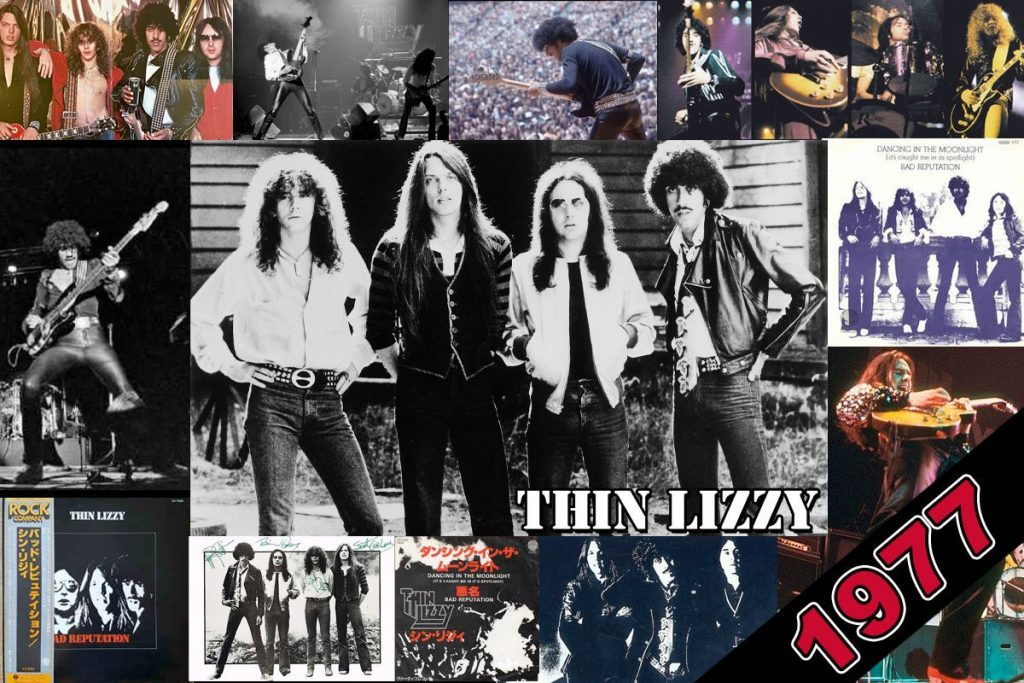 Thin Lizzy 1977