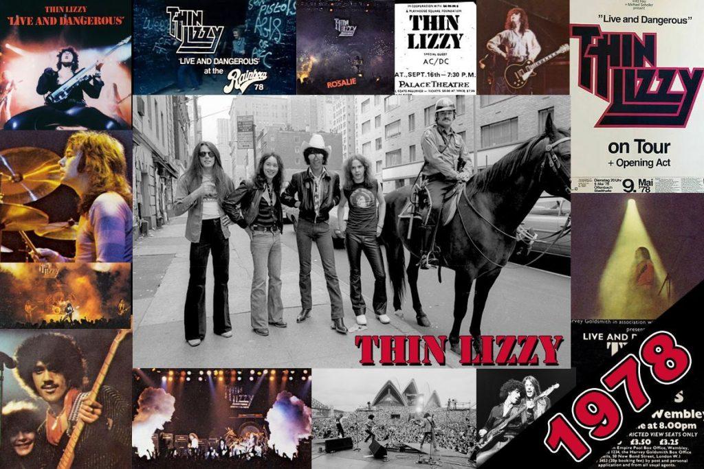 Thin Lizzy 1978