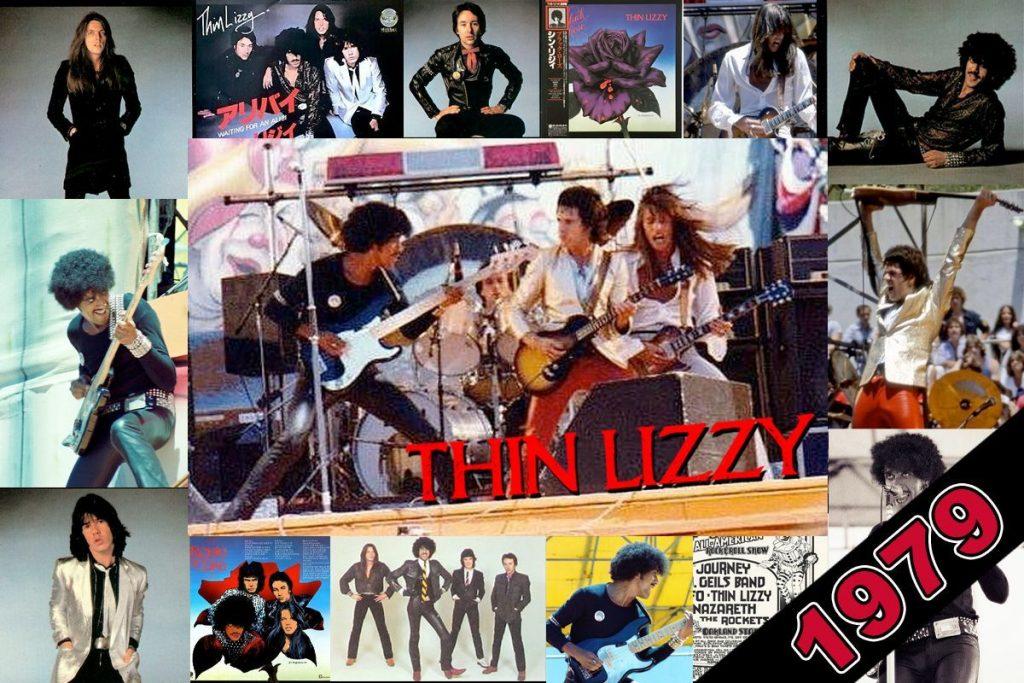 Thin Lizzy 1979