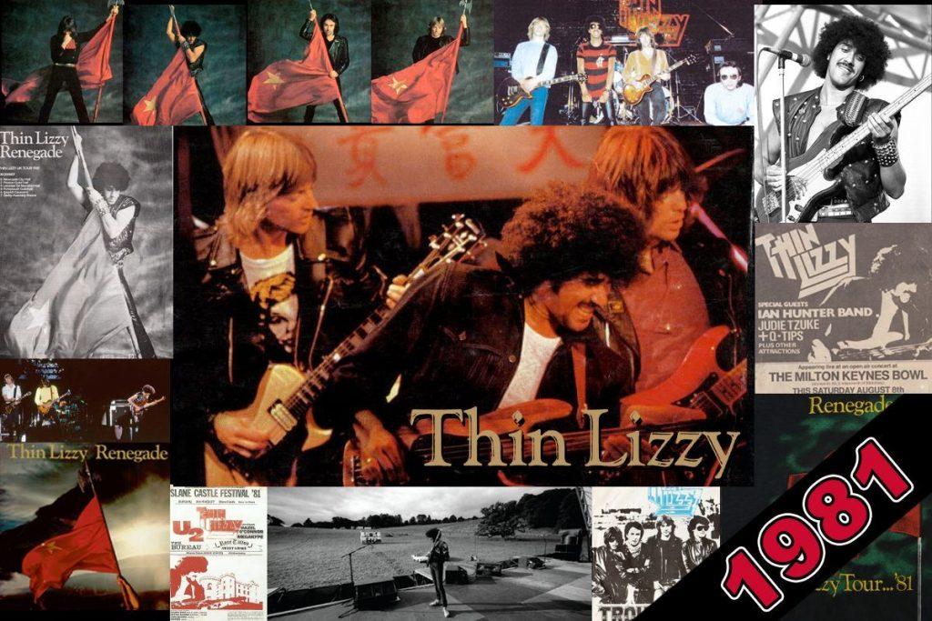 Thin Lizzy 1981