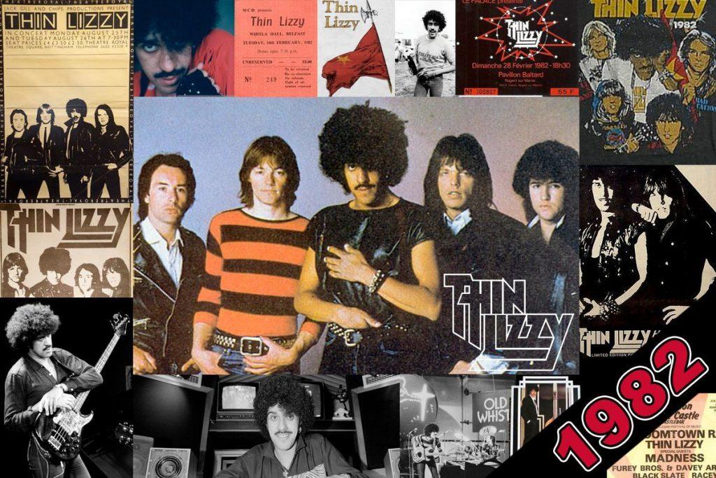 Thin Lizzy 1982