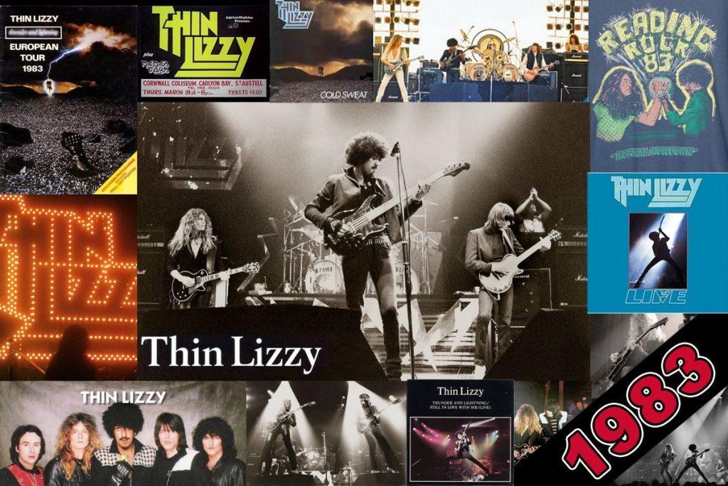 Thin Lizzy 1983